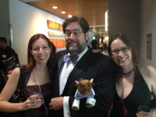 My Taos buddies and I at the Nebulas this weekend. Photo by Valerie Schoen.