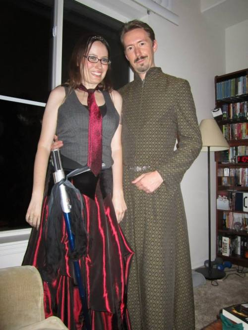 And here's me with Petyr Baelish for good measure.