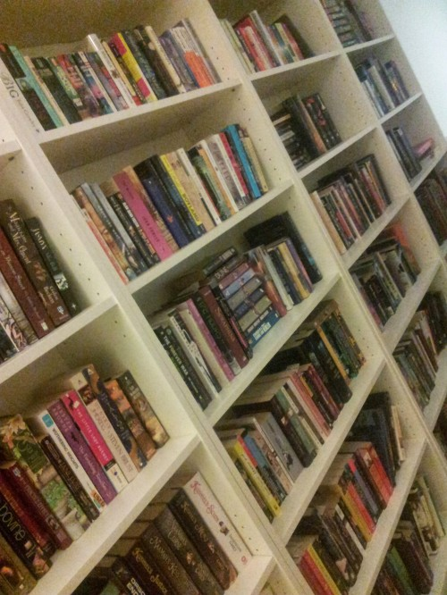 Books, books, and more books!