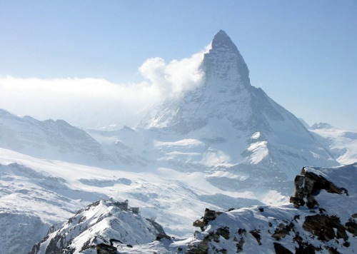 The Matterhorn is one of my favorite mountains, so I'm totally going to model my Life Mountain from it. Photo Credit: AlphaTangoBravo / Adam Baker via Compfight cc