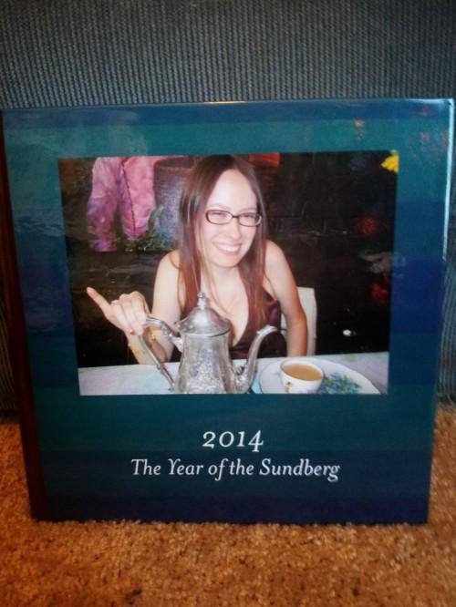 Last year's book